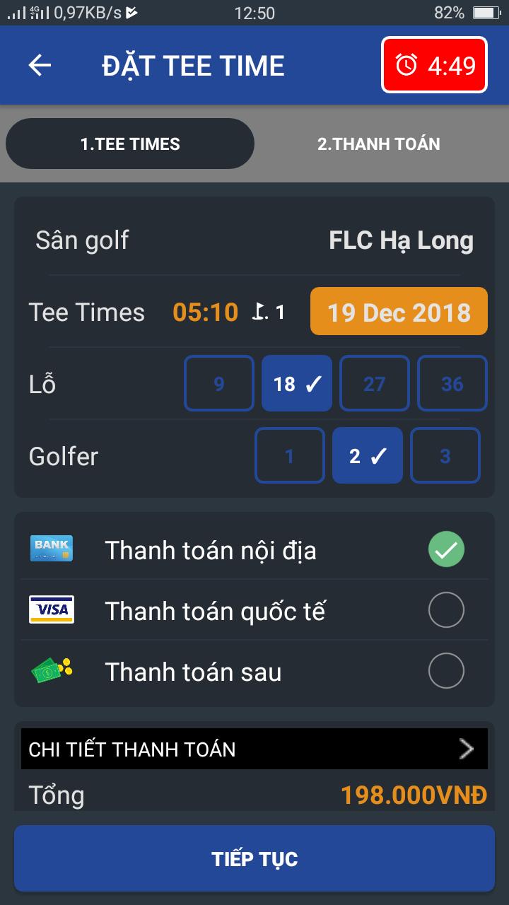 Hiện tại, người dùng dễ dàng tải FLC Biscom Golf trên mọi trình duyệt ở thiết bị cầm tay thông minh. Ứng dụng có sẵn trên Appstore của iOS, Google Play với ...